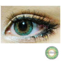 NEO Queen Green Colored Contacts Circle Lenses