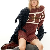 Free People Northern Lights Sweater Dress