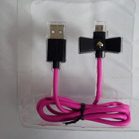 New Kate Spade New York Charge/Sync Micro USB Cable for Android, KSPW-224-BLKVS