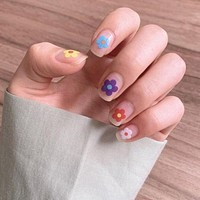 Flower Power Nail Stickers