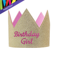 Gold & Pink Birthday Girl Crown | Hobby Lobby