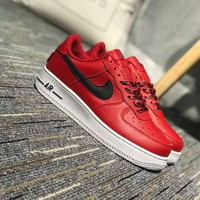 Tagre™ Nike Air Force 1 Low NBA Pack Unisex Sport Casual Letter Shoelace Plate Shoes Couple Fashion Sneakers