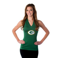 """Green Bay Packers Women's Official NFL """"Blown Coverage"""" Halter"""