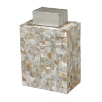 MOTHER OF PEARL JAR