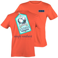 Simply Southern 100% Southern Raised Right Cotton T-Shirt