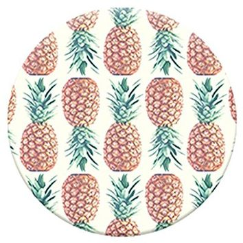 PopSockets: Expanding Stand and Grip for Smartphones and Tablets - Pineapple Pattern