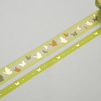 Masking Tape - ROUND TOP, Butterfly, 20 / 8mm x 4m
