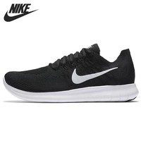 PEAPON Original New Arrival 2017 NIKE Free Rn Flyknit Women's Running Shoes Sneakers