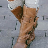 Speckled Boot Socks (2 Colors)