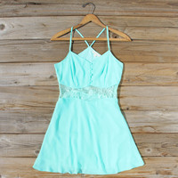 The Sunseeker Dress in Turquoise