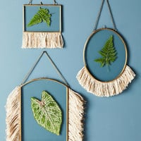 Fringed Hanging Frame