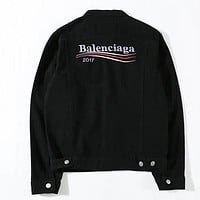 Boys & Men Balenciaga Fashion Casual Cardigan Jacket Coat