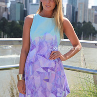 Geometric Affair Dress