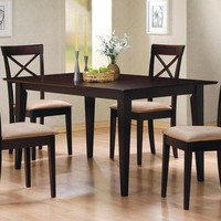 Coaster Cappuccino Dining Table
