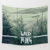 Wild Thing: Skagit Valley, Washington Wall Tapestry by Leah Flores