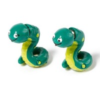 Snake Front and Back Earrings  | Claire's