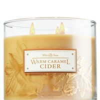 3-Wick Candle Warm Caramel Cider