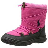 Polo Ralph Lauren Girls Orao Quilted Winter Boots