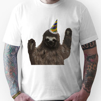 Party Animal - Sloth Unisex T-Shirt