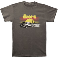 Doors Men's  Riders T-shirt Grey Rockabilia