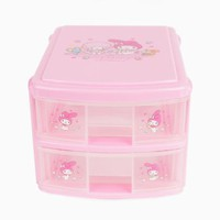 My Melody 2 Drawer Chest: Best Friends Collection
