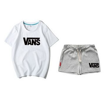 VANS suits ladies in multicolored shorts and short sleeves