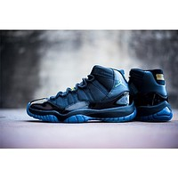 Air Jordan 11 Gamma Blue (Black/Gamma Blue-Varsity Maize)