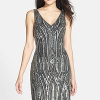 Women's Adrianna Papell Embellished Sheath Dress,