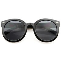 Modern Rounded Circle P3 Indie Fashion Sunglasses 8585