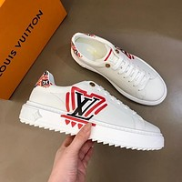 lv louis vuitton womans mens 2020 new fashion casual shoes sneaker sport running shoes 222