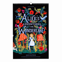 2016 Alice in Wonderland Calendar