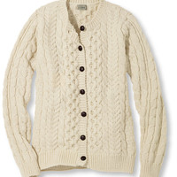 Women's 1912 Heritage Sweater, Fisherman's Cardigan | Free Shipping at L.L.Bean
