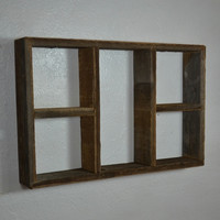 "Wood shelf great rustic style for your home 22"" wide 15"" tall"