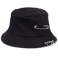 Hey DJ Pierced Bucket Hat