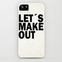 Let´s make out iPhone & iPod Case by Nicklas Gustafsson