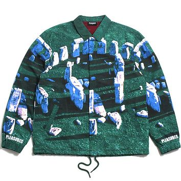 Questions Coaches Jacket Green