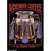 Worship Coffee The Dark Lord Magnet