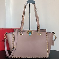 Valentino Newest Popular Women Leather Handbag Tote Crossbody Shoulder Bag Satchel 902
