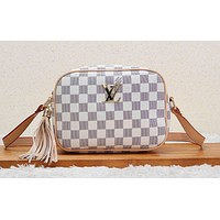 LV hot selling lady casual shoulder bag fashion matching color printing shopping bag #3