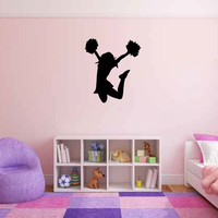 Cheerleader Vinyl Wall Decal Sticker Graphic