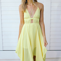 Celebration Dress-Yellow
