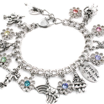 Wizard of OZ charm bracelet, adults and childrens