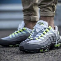 DCCK Air Max 95  Flo Green / Grey