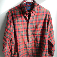 Classic Pendleton Red Flannel -- Christmas Flannel