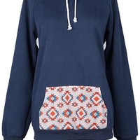 Cupshe Give It Your Best Hooded Sweatshirt