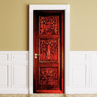 Sticker for Door / Wall / Fridge - Wardrobe. Peel & Stick Removable Mural, Skin, Cover, Wrap, Decal, Poster