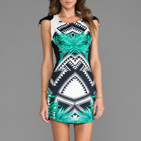 bless'ed are the meek Lush Dress in Green