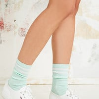 Pastel Socks in Mint Green - Urban Outfitters