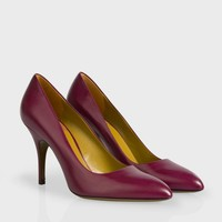 Paul Smith Women's Damson Calf Leather 'Lori' Shoes