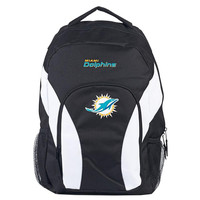Miami Dolphins NFL Draft Day Backpack (Black)